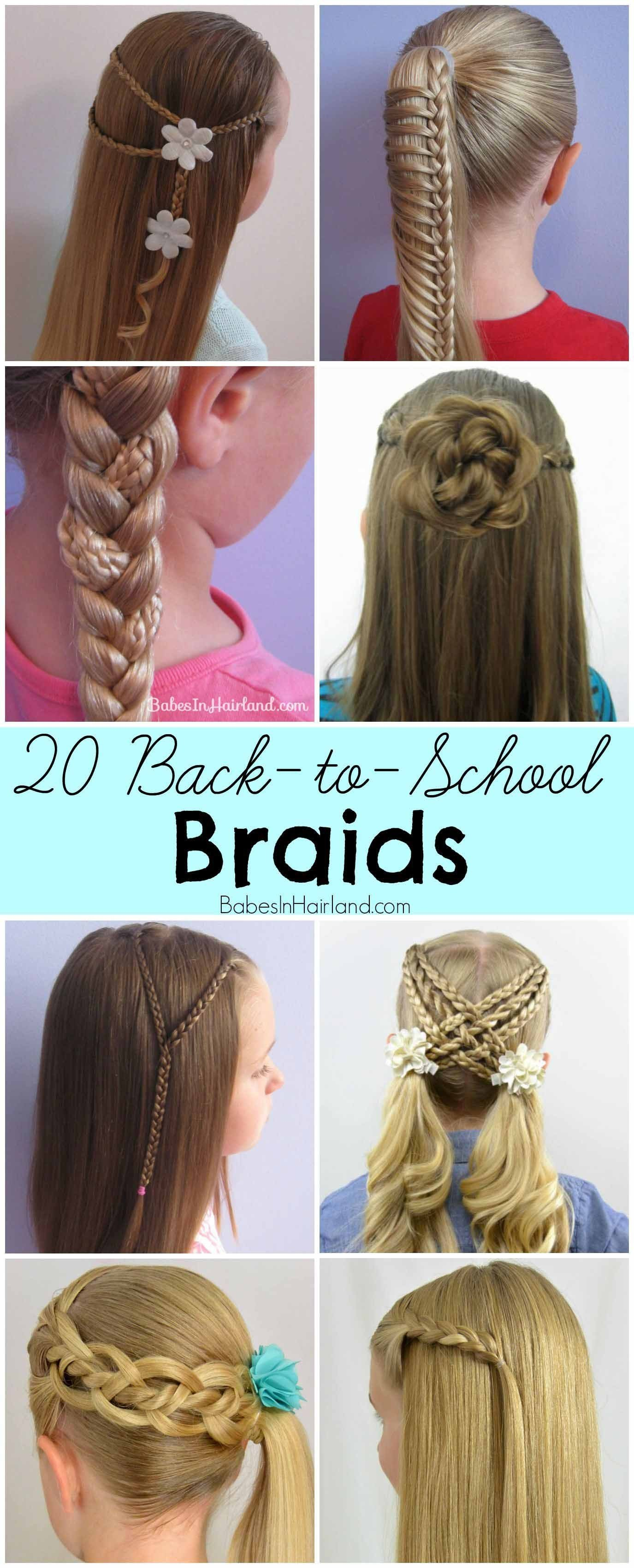 The Best Roller Coaster Braids Back To School Hairstyle B*B*S Pictures