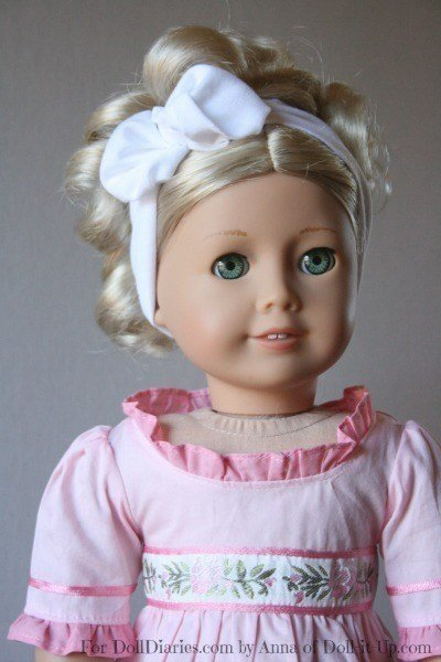 The Best Caroline And A Hairstyle From 1812 Doll Diaries Pictures
