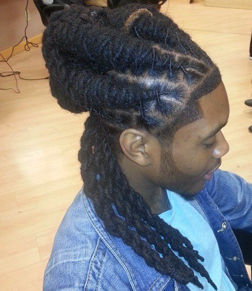 The Best 20 Terrific Long Hairstyles For Black Men Pictures