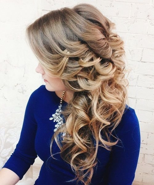 The Best 40 Gorgeous Wedding Hairstyles For Long Hair Pictures