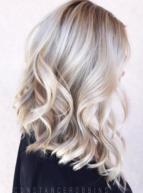 The Best 40 Hair Сolor Ideas With White And Platinum Blonde Hair Pictures