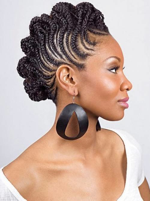The Best 70 Best Black Braided Hairstyles That Turn Heads In 2018 Pictures