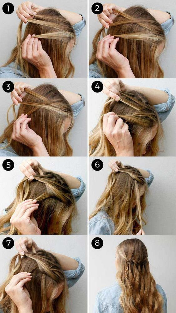 The Best Easy Half Up Half Down Hairstyle You Can Try Fashiotopia Pictures