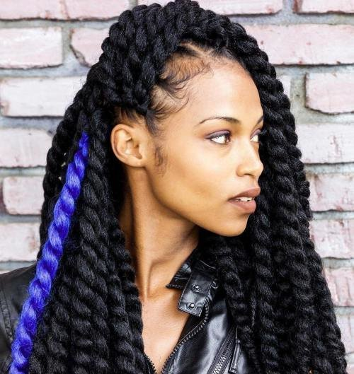 The Best 40 Chic Twist Hairstyles For Natural Hair Pictures