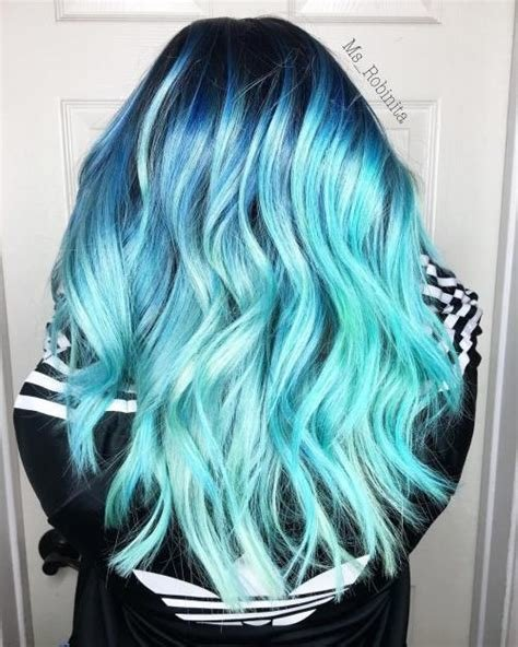 The Best 30 Icy Light Blue Hair Color Ideas For Girls Pictures