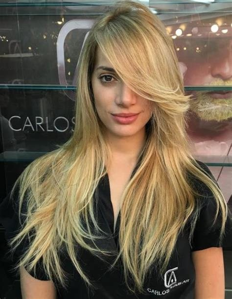 The Best 50 Cute Long Layered Haircuts With Bangs 2018 Pictures
