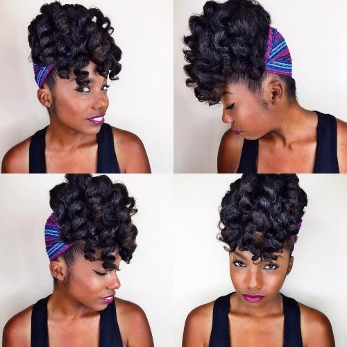 The Best 50 Updo Hairstyles For Black Women Ranging From Elegant To Pictures