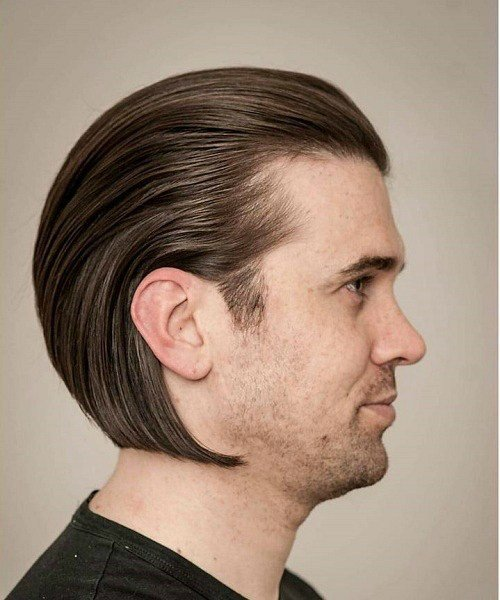 The Best 20 Trendy Slicked Back Hair Styles Pictures