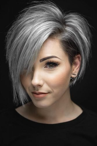 The Best 33 Short Grey Hair Cuts And Styles Lovehairstyles Com Pictures