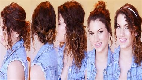 The Best Good School Hairstyles For Curly Hair Hair Pictures