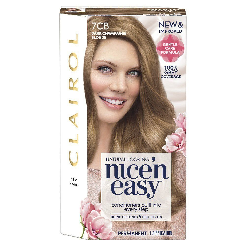 The Best Clairol Nice N Easy Hair Dye Champagne Blonde 7Cb Buy Pictures