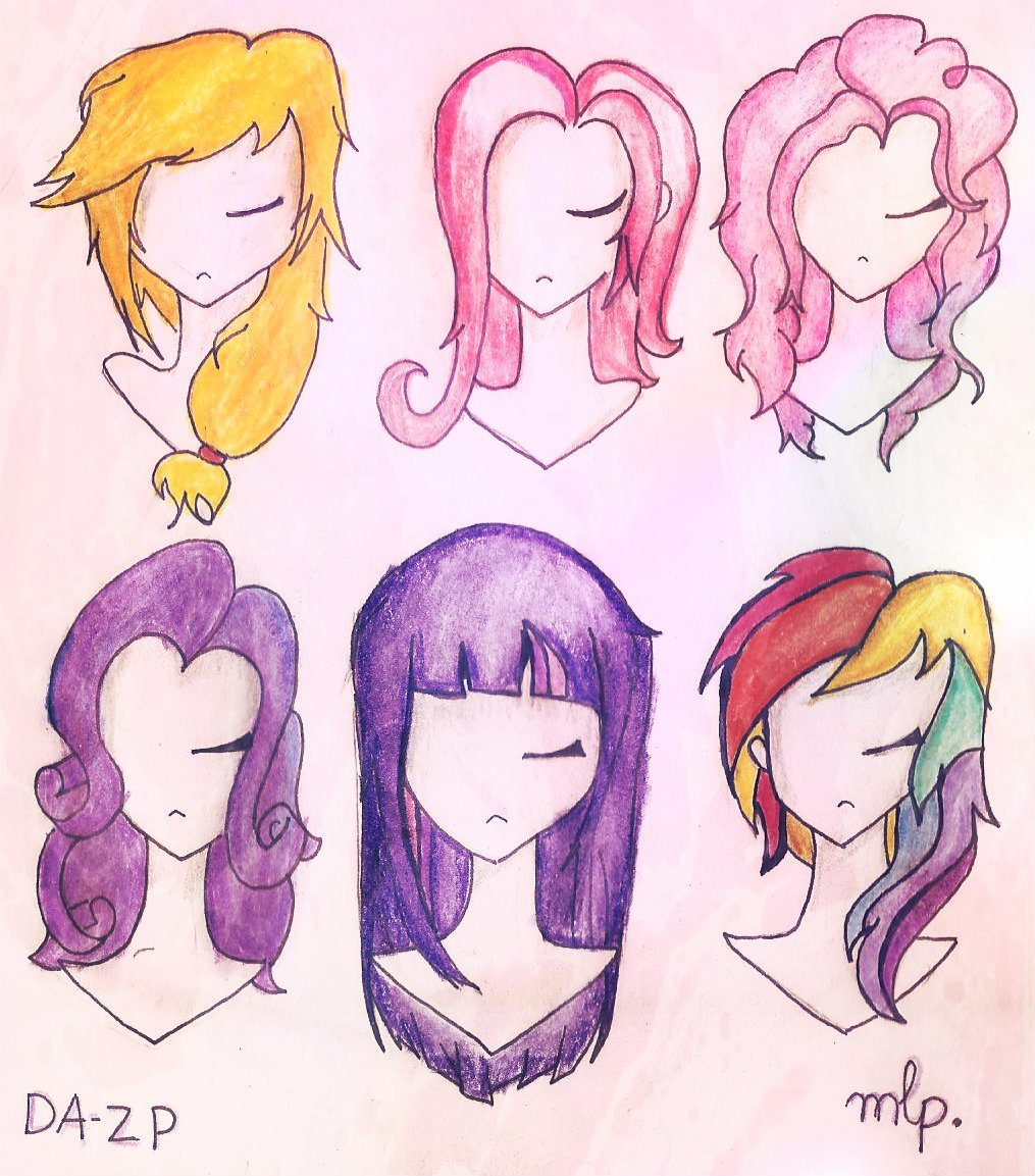 The Best Pony Hairstyles Mlp Hair Pictures