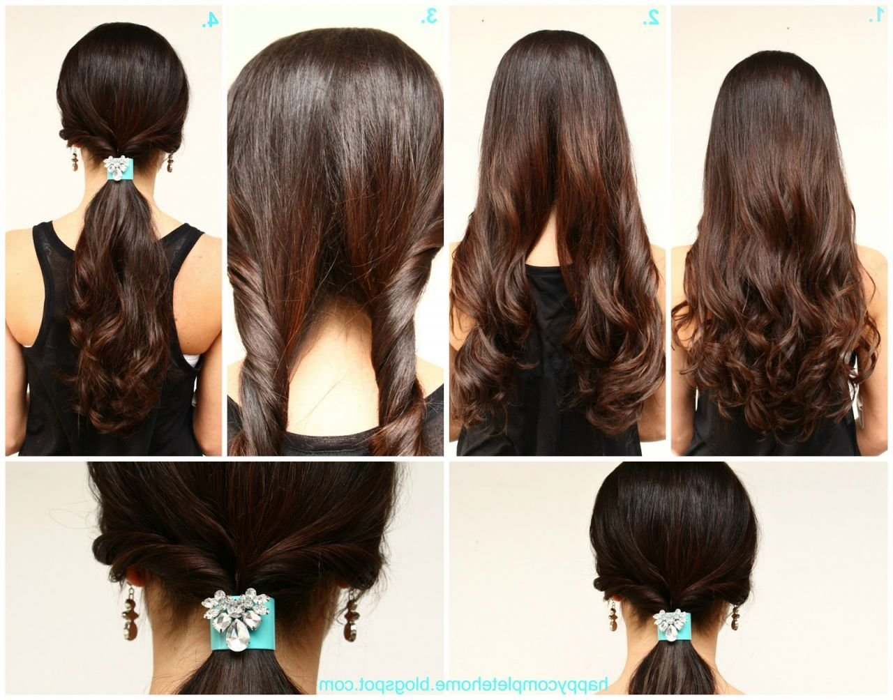 The Best Easy Hairstyles 02 Indian Makeup And Beauty Blog Pictures