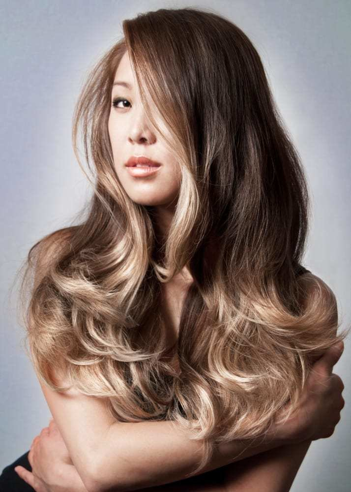 The Best Smoked Ash On Ombre On Asian Hair By Guy Tang Yelp Pictures