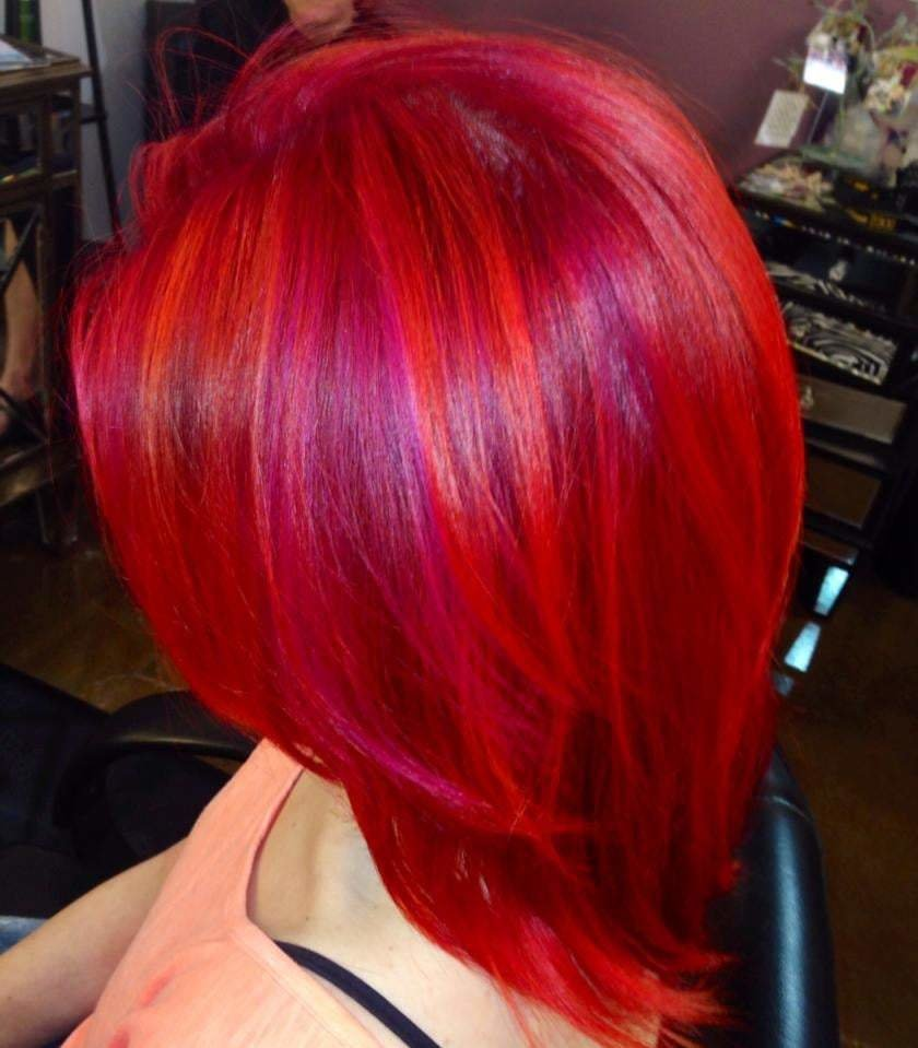 The Best Amazing Creative Hair Color Pink Magenta Orange Hair Color Pictures