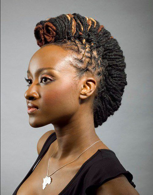 The Best 50 Mohawk Hairstyles For Black Women Stayglam Pictures