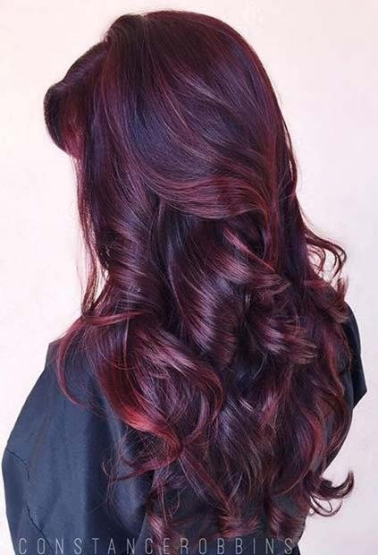 The Best 21 Amazing Dark Red Hair Color Ideas Page 2 Of 2 Stayglam Pictures