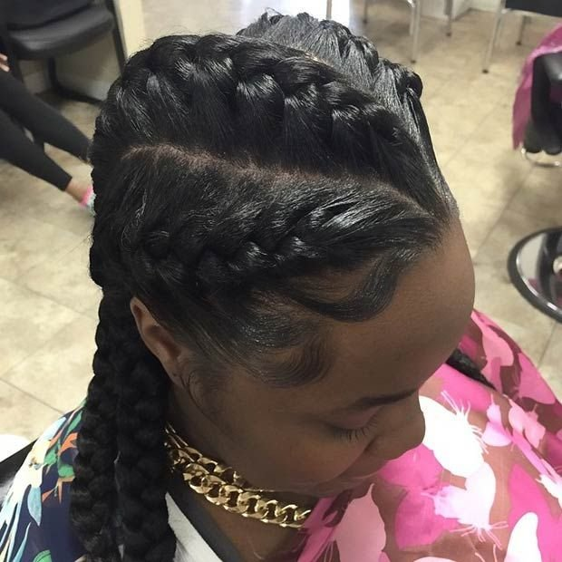 The Best 51 Goddess Braids Hairstyles For Black Women Page 3 Of 5 Pictures