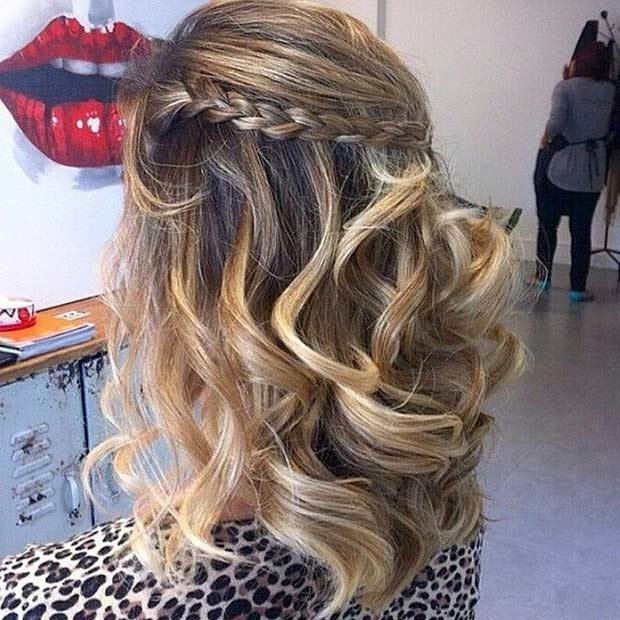 The Best 31 Half Up Half Down Prom Hairstyles Stayglam Pictures