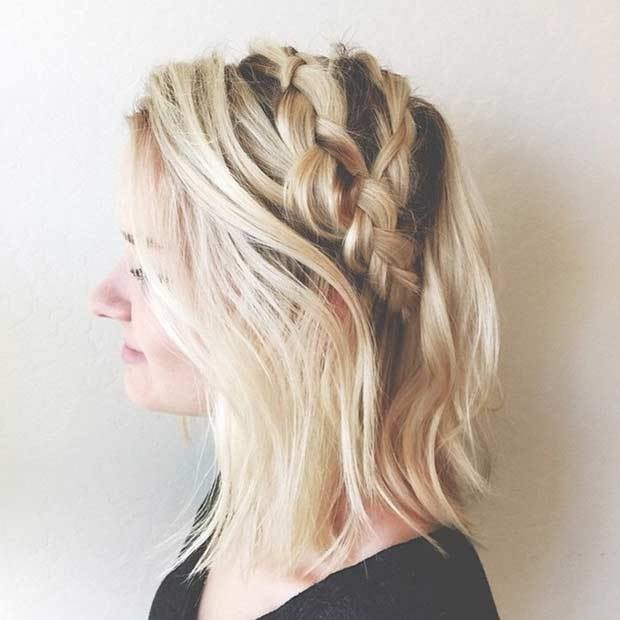 The Best 17 Chic Braided Hairstyles For Medium Length Hair Page 2 Pictures