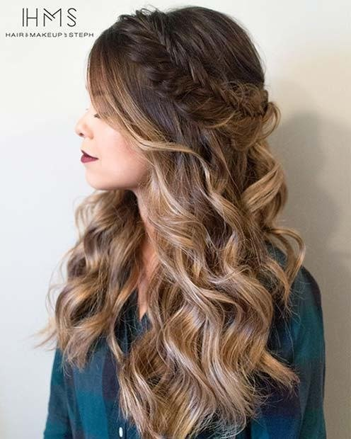 The Best 27 Gorgeous Prom Hairstyles For Long Hair Stayglam Pictures