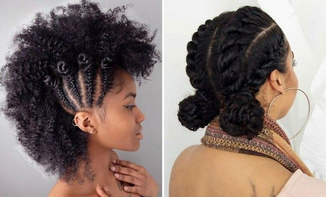 The Best 21 Chic And Easy Updo Hairstyles For Natural Hair Stayglam Pictures