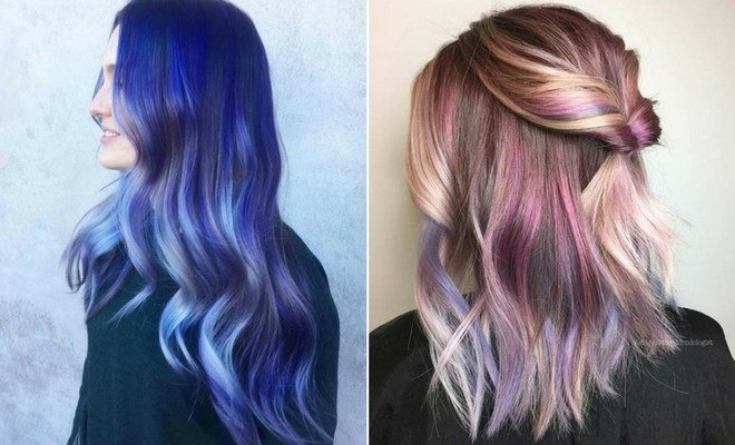 The Best 23 Unique Hair Color Ideas For 2018 Stayglam Pictures