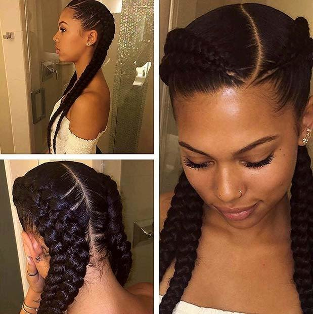 The Best 68 Best Black Braided Hairstyles To Copy In 2019 Stayglam Pictures