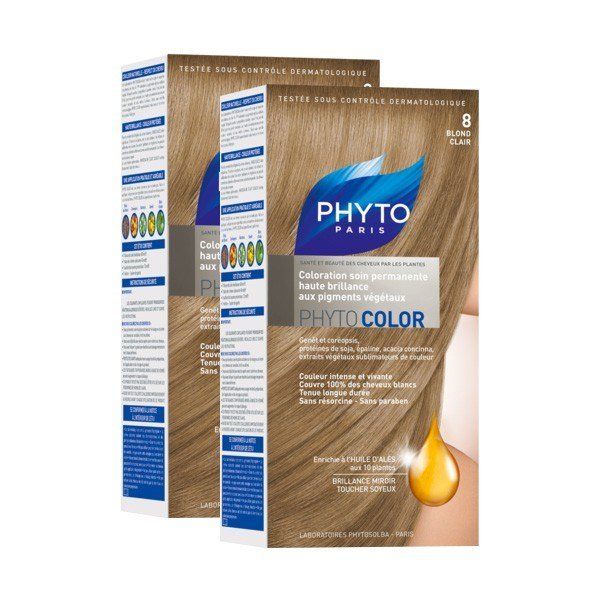 The Best Get Phyto Color 8 Light Blond Duo Hair Sanareva Pictures