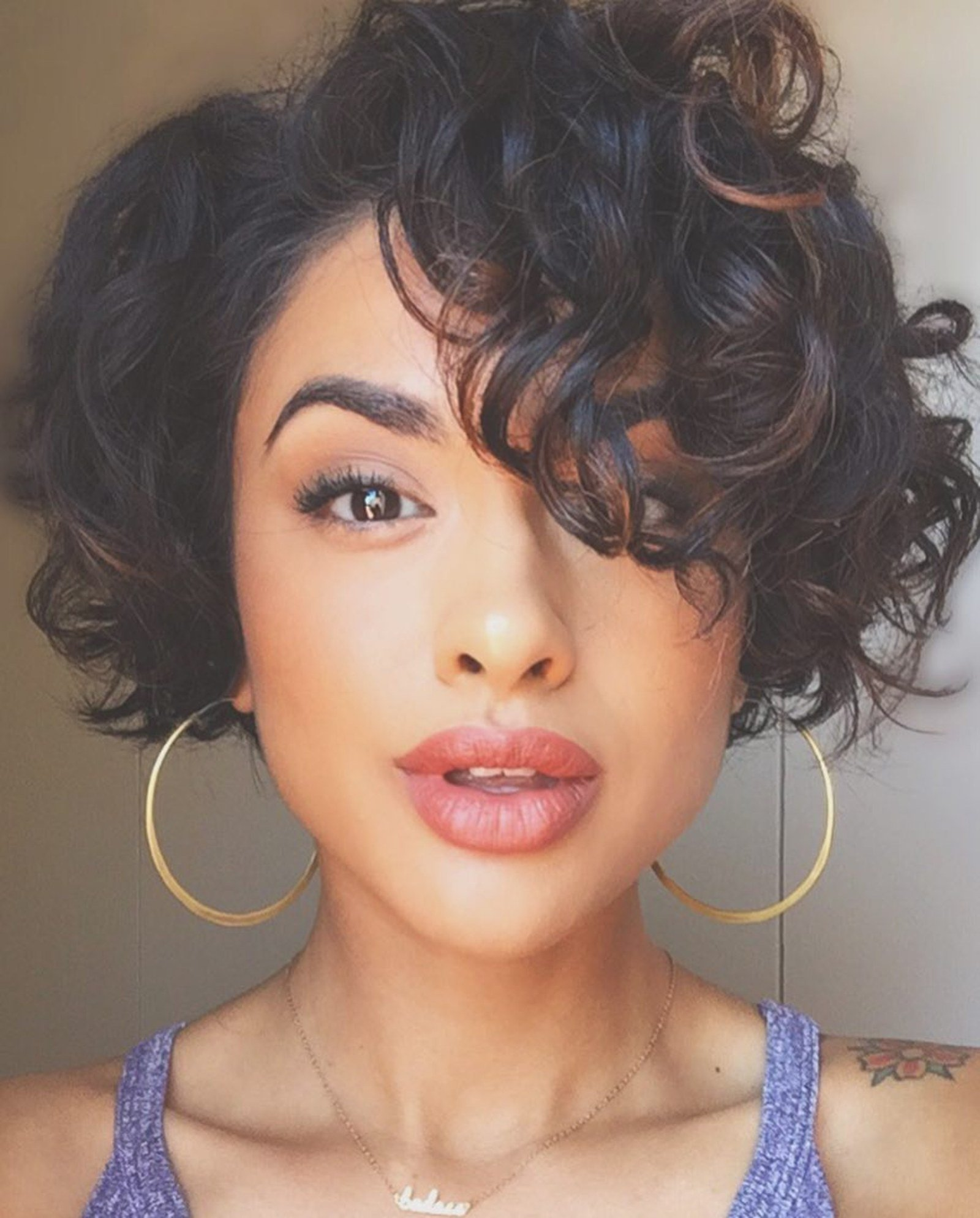 The Best 28 Curly Pixie Cuts That Are Perfect For Fall 2017 Glamour Pictures