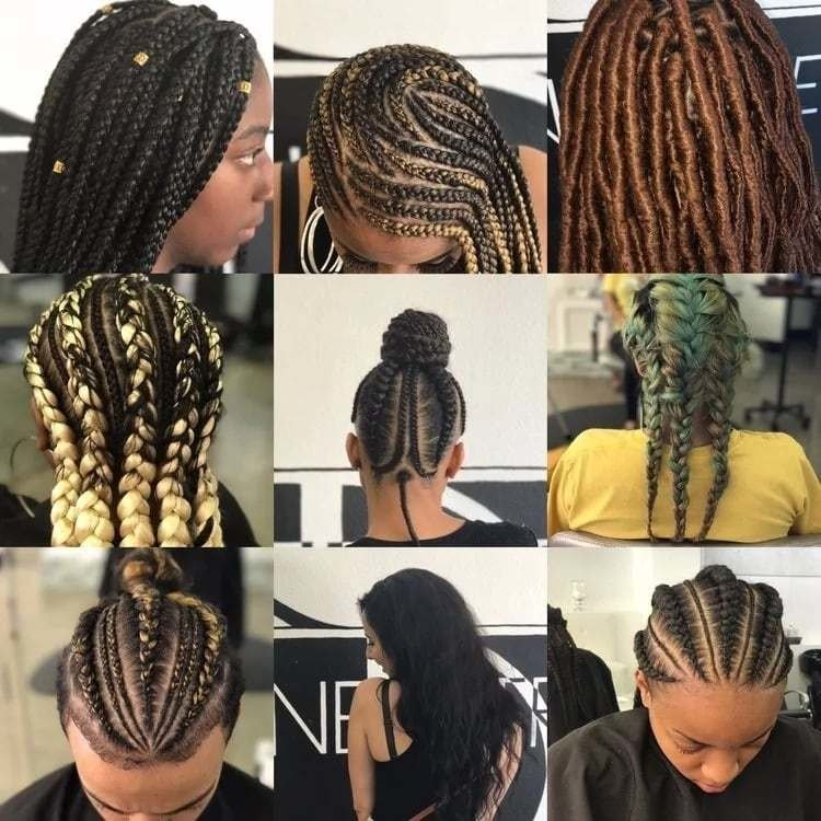 The Best Easy Hairstyles For Braids African Hair Tuko Co Ke Pictures