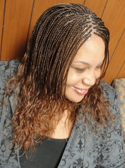 The Best Micro Braids Hairstyles How To Style Pictures Video Pictures