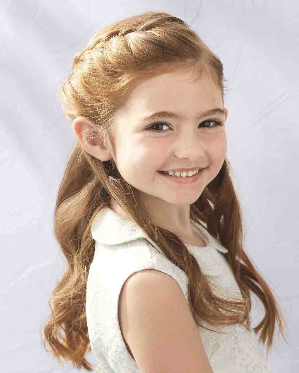 The Best Flower Girl Hairstyles That Are Cute And Comfy Martha Pictures