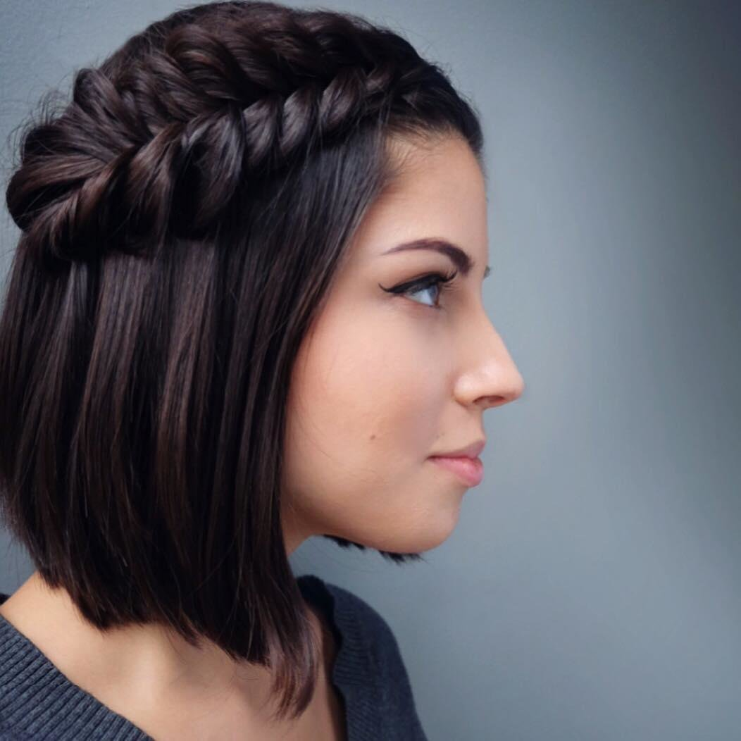 The Best 30 Swanky Braided Hairstyles To Do On Short Hair All Pictures