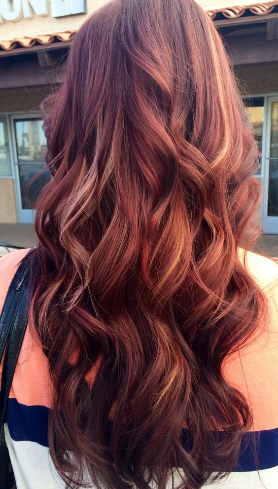 The Best 12 Hottest Mahogany Hair Color Highlights For Brunettes Pictures