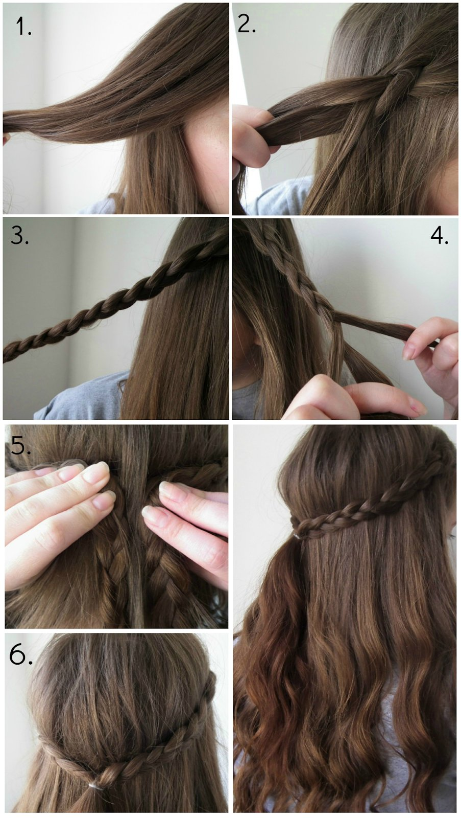 The Best Quick Easy Braid Hairstyle Lauren Victoria Beauty Pictures