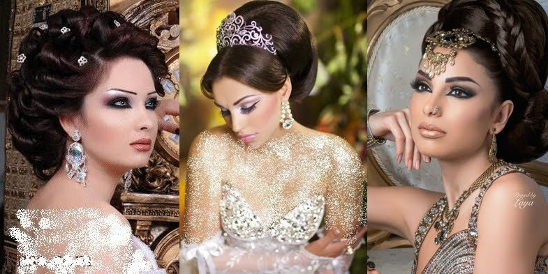 The Best Stunning Arabic Bridal Hairstyles Pictures
