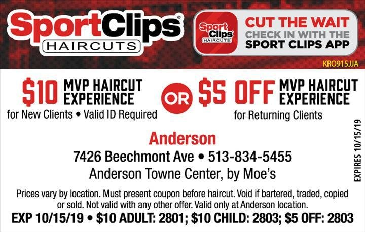 The Best Sport Clips Coupon By Indoormedia Pictures
