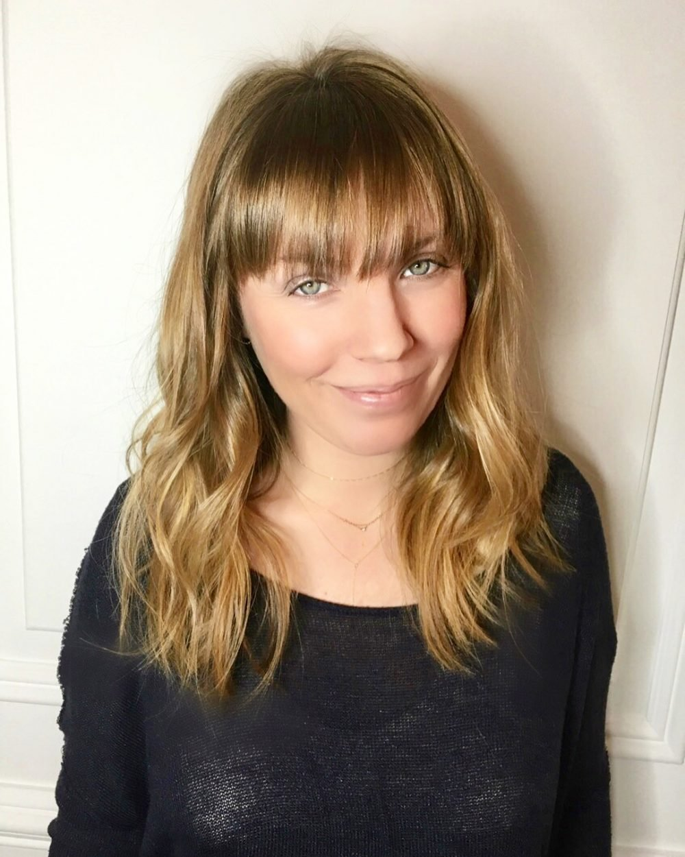 The Best 53 Popular Medium Length Hairstyles With Bangs In 2019 Pictures
