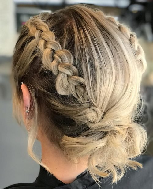The Best 18 Gorgeous Prom Hairstyles For Short Hair For 2019 Pictures