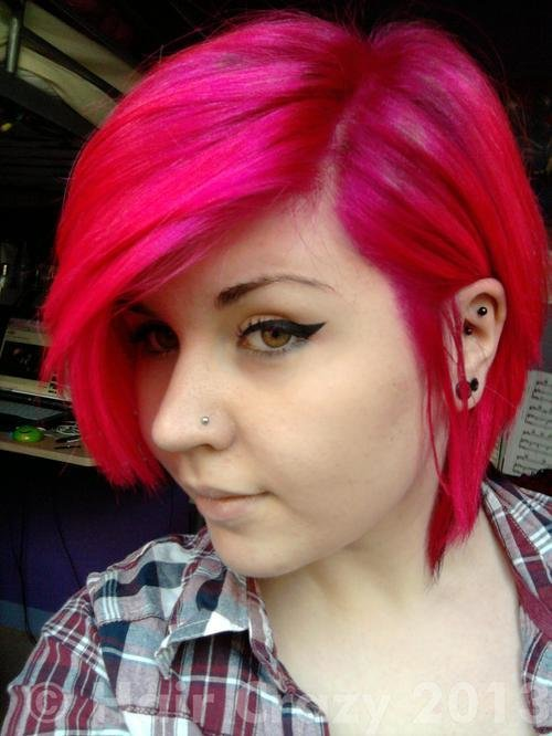 The Best Special Effects Atomic Pink Hair Dye Haircrazy Com Pictures