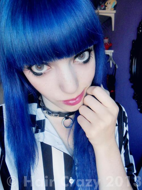 The Best Manic Panic Shocking Blue Hair Dye Haircrazy Com Pictures