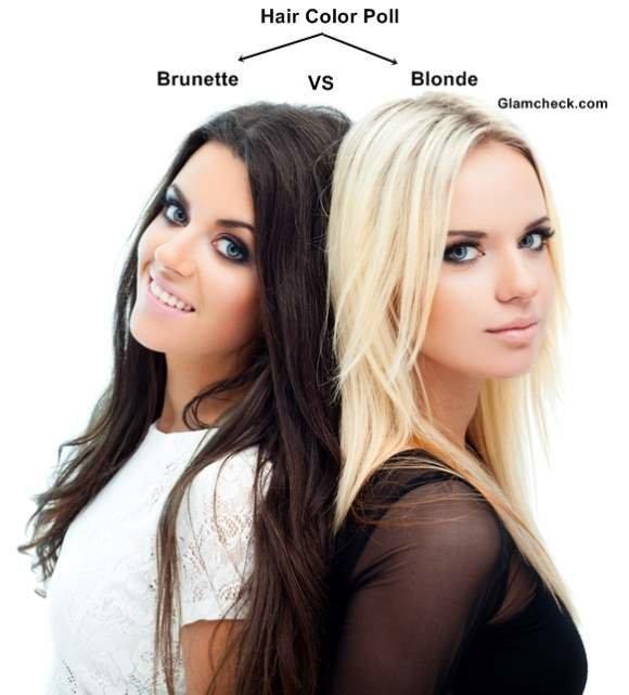 The Best Hair Color Poll Blonde Vs Brunette Pictures