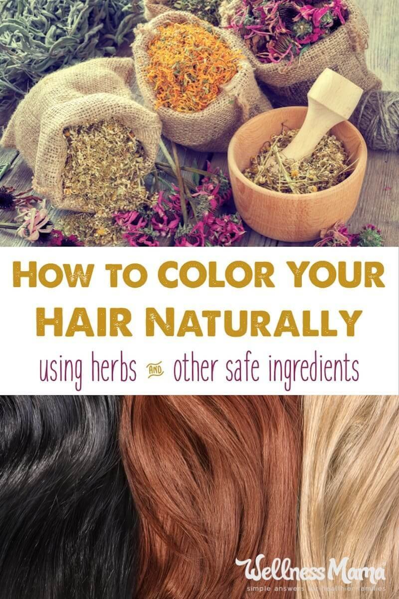 The Best Natural Hair Color Recipes Wellness Mama Pictures