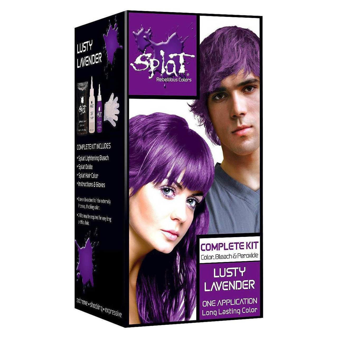 The Best Splat Rebellious Colors Semi Permanent Hair Dye L*Sty Lavender Btybox Com Pictures