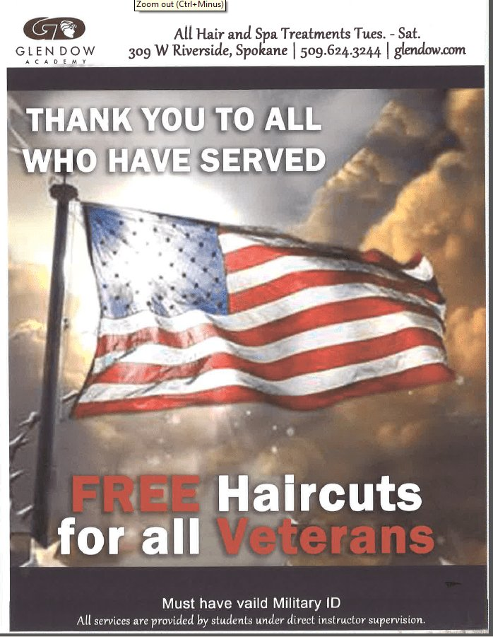 The Best Free Haircuts For All Veterans Infolink Pictures