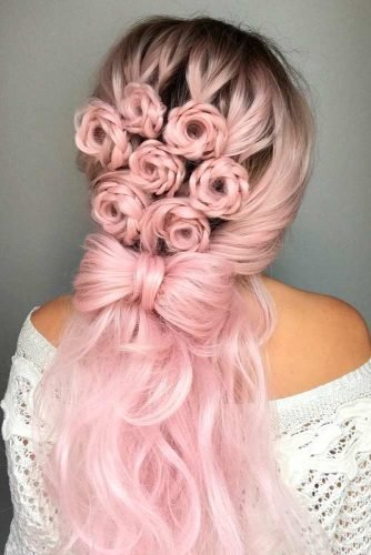The Best 30 Half Up Half Down Bridesmaid Hairstyles – My Stylish Zoo Pictures