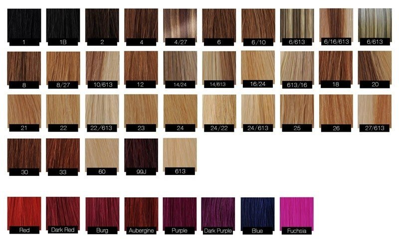 The Best Argan Oil Hair Color Chart World Of Reference Pictures