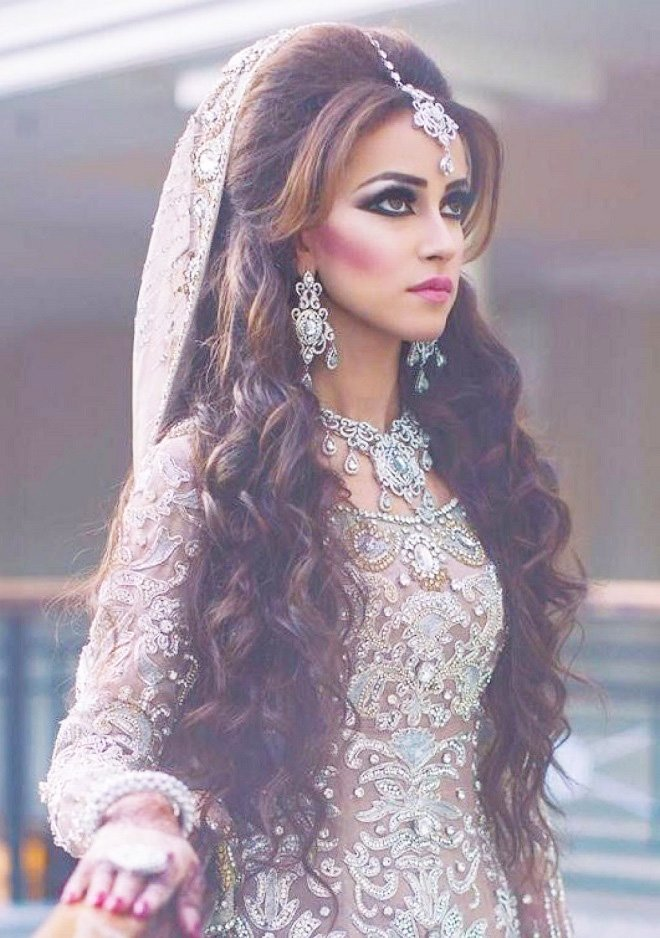 The Best Beautiful Indian Bridal Hairstyles For Long Hair Pictures