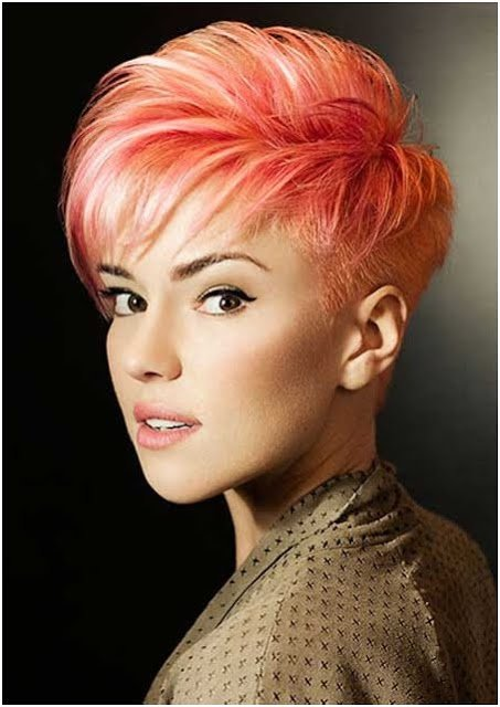 The Best Crazy Colors For Short Hair The Haircut Web Pictures